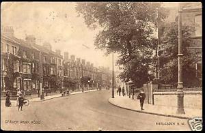 london, HARLESDEN N.W., Craven Park Road (ca. 1910)