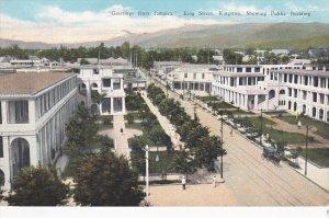 KINGSTON, Jamaica, PU-1935; King Street, Showing Public Building