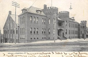Armory Post Card Middletown, New York, USA 1906
