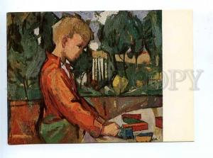 179397 Fritz Eisel Spielendes Kind old postcard