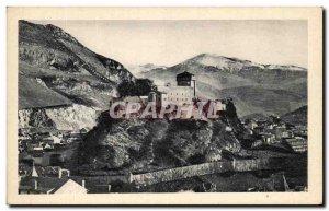 Old Postcard Lourdes Le Chateau Fort