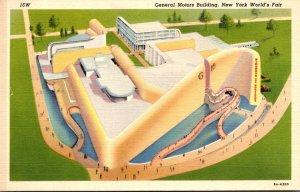 New York World's Fair 1939 The General Motors Building Curteich