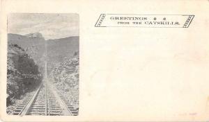 Catskill New York Otis Elevating Railway Antique Postcard J52303