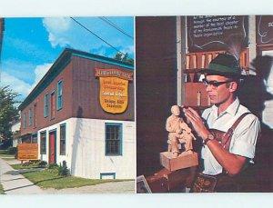 Pre-1980 STORE SHOP SCENE Frankenmuth Michigan MI AF2676