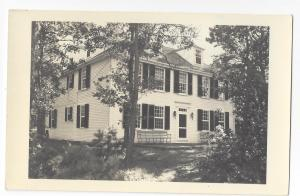 RPPC House Colonial Style