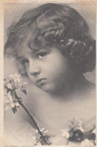 Child Head Portrait Mother's Darling , 1905