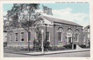 Iowa Waverly Post Office Curteich