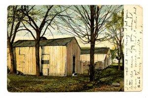 NY - Elmira. Rebel Prison Pen, 1864