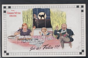 Leisure Postcard - The Crossword Craze - Felix The Cat   HP655