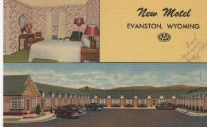 EVANSTON, New Motel, Wyoming, 30-40s ; Lincoln Highway