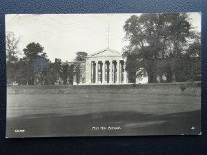London MILL HILL SCHOOL The Ridgeway c1933 RP Postcard WHS