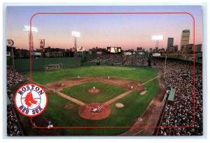 Postcard Fenway Park, Home of the Boston Red Sox, MA baseball MLB