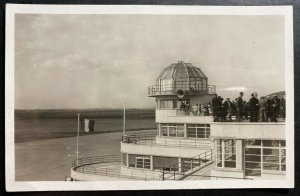 Mint France Postcard RPPC Early Aviation The New Terminal Le Bourget aerodrome