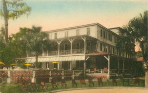 Altamonte Springs Florida Hotel Cottages Collotype hand colored Postcard 21-9620