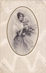 RP: Female Portrait , PU-1910 ;  #115
