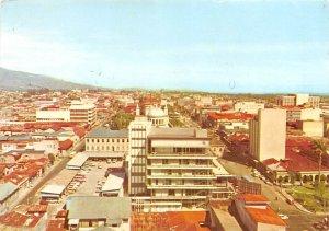 Vista aerea de la ciudad San Jose Costa Rica 1976