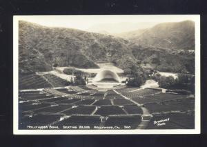 RPPC HOLLYWOOD CALIFORNIA HOLLYWOOD BOWL VINTAGE REAL PHOTO