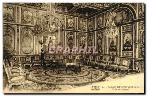Old Postcard Palace of Fontainebleau Room From Board