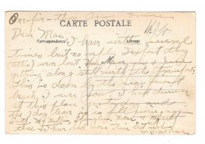 Artaud Nozais Postcard France Tourists arrive at Beach Hotel Horse drawn Coach