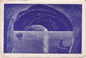 Post Card Italy Capri Blue Grotto (Grotta a' Azzura)