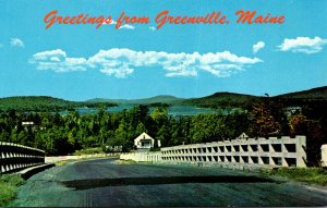 Maine Moosehead Lake and Greenville