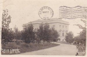 RP: MOOSE JAW , Saskatchewan , Canada ,1914; Public Library