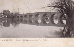 Pennsylvania Lancaster Witmers Bridge 1907