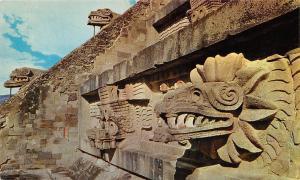 Mexico Cabeza de Serpiente Piramides, San Juan Teotihuacan Sculptures, Pyramid