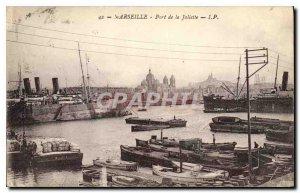 Postcard Old Port of Marseille Joliette Charter