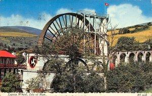 Isle of Man Laxey Wheel Valentine Postcard