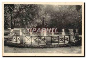Postcard Old Chateau of Fontainebleau Fountain of Diana