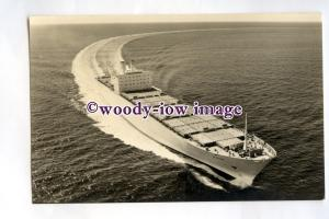 pf0316 - Swedish East Asia Container Ship - Nihon , built 1972 - postcard