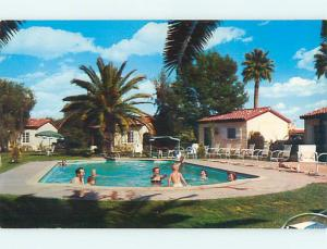 Unused Pre-1980 POOL & SEA BREEZE MOTEL Phoenix Arizona AZ u0144-12