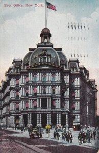 NEW YORK, PU-1911; Post Office