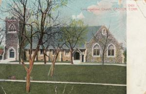 GROTON , Connecticut , PU-1910; Congregational Church