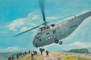 US Marines Helicopter 1960s