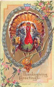 Thanksgiving Postcard Old Vintage Antique Post Card