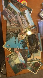 Vintage Postcard Lot; 100+ Assorted! US Europe More ( #0101)