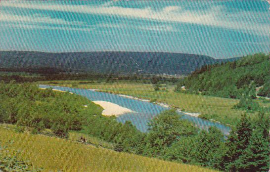 Canada Nova Scotia Cape Breton Margaree Valley Is A Peaceful Corner Of Nova S...
