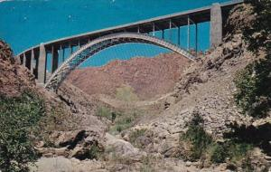 Arizona Phoenix Queen Creek Bridge 1960