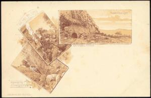 south africa, TRANSVAAL, Dwaalheuvel, Waterfall (1899)
