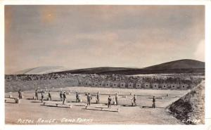 Camp Parks Pistol Range Real Photo Antique Postcard J68262