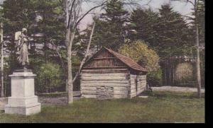 New York  Castile Letchworth State Park  Mary Jamison Monument Albertype