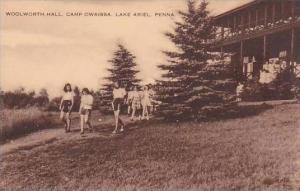 Pennsylvania Lake Ariel Woolworth Hall Camp Owaissa Artvue