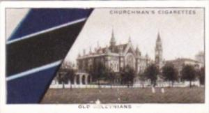 Church Vintage Cigarette Card Well Known Ties No 17 Old Alleynians