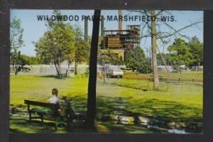 Wildwood Park,Marshfield,WI Postcard