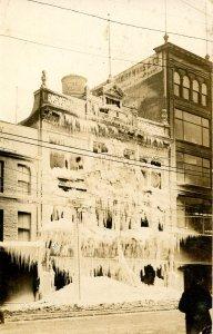 Canada - ON, Hamilton. Grafton's Dept Store Fire, Feb. 12-13, 1917.  RPPC