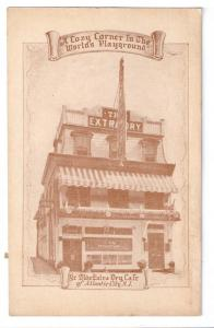 Olde Extra Dry Cafe Atlantic City NJ John Fortman ca 1920