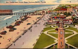 Florida Daytona Beach Pier Casino and Ocean Front 1947