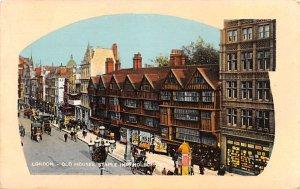 Old Houses, Staple Inn, Holborn London United Kingdom, Great Britain, England...
